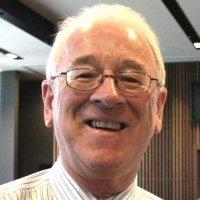 Wednesday luncheon with Rotary Club of Adelaide President Robert Falconer